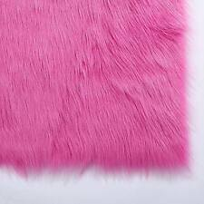 Hot Pink Decorative Mat Rug Plush Soft Faux Fur Floor Rug Free Postage 50*80CM