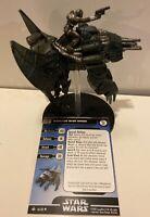 Star Wars Miniatures Mandalorian Basilisk War Droid #54 With Card