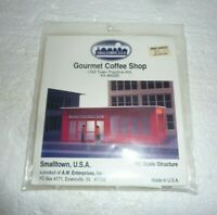 SMALLTOWN USA HO SCALE GOURMET COFFEE SHOP (6026) SEALED  S-47