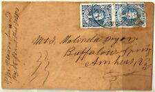 CSA 2b Used PAIR On Cover SCV$1,500.00  (CSA2-3)