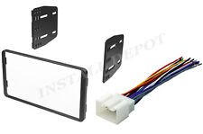 Ford Lincoln Mercury Double Din Dash Kit & Wiring Harness Car Stereo CD Install