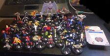 Marvel HeroClix Lot of 55 Figures Iron Fist Red She Hulk Wasp Red Skull Valkyrie