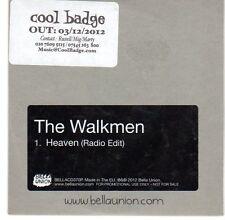 (EA480) The Walkmen, Heaven - 2012 DJ CD