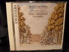 Franz Krommer  Partitas Op.45  Josef Triebensee Ensemble  Jeroen Weierink