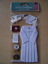 NEW-JOLEE'S/JOLEES BOUTIQUE-LARGE - CAP AND GOWN - WHITE