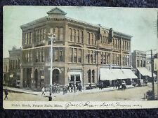 1908 Pickit Block Fergus Falls, Mn Minnesota Pc
