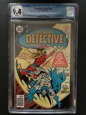 Detective Comics 466 CGC 9.4 Signalman app Green Arrow Backup DC Comic GR1-4