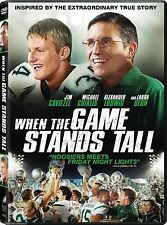 SEALED - When The Game Stands Tall DVD - Based On True Story BRAND NEW