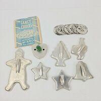 Nice Set of Vintage Fancy Cookies - Aluminum Cookie Cutters - Estate Found