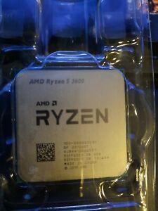 Ryzen 5 3600 CPU only