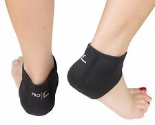 Neoprene heel sock protector for cracked dry heels