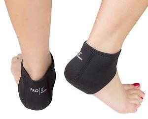 Neoprene heel sock protector for cracked dry heels