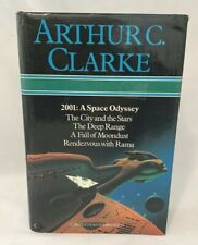 Omnibus ARTHUR C CLARKE 2001 Space Odyssey City Stars Deep Range Fall Moondust