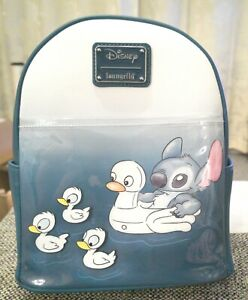 Loungefly Disney Lilo &  Stitch Ducklings mini backpack BNWT