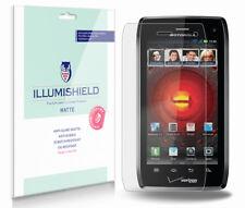 iLLumiShield Anti-Glare Screen Protector 3x for Motorola DROID 4 HD (XT894)
