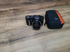 Canon SX160 IS 16 Megapixel Digital Camera (BLACK) w case Works Great nice b2