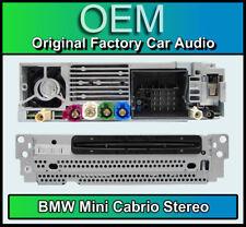 BMW Mini Cabrio SAT NAV ESTÉREO, F57 reproductor de CD, navegación por satélite, radio DAB