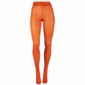 L307 HUE Amber Spice Orange Opaque Non Control Top Tights