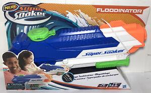 New Nerf Super Soaker Floodinator Water Blaster Pump Action Long Distance Gun
