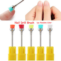 Nail Art Drill Bit Cleaning Brush Nail Polishing Head Manicure Clean Tools