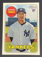 2018 Topps Heritage #603 Gleyber Torres RC Yankees