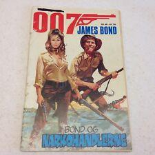 James Bond 007 1983 No 66 Danish Version Comic Original Complete International