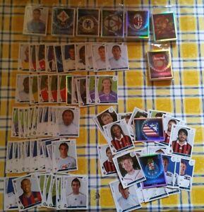 """lot Panini """"CHAMPIONS LEAGUE 2009/2010"""" + de 410 stickers avec des doubles"""