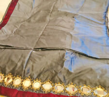 Indian Tribal Veil with real mirror work for tribal fusión belly dance, Dupatta
