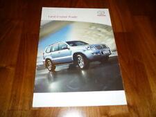 Toyota Land Cruiser Prado folleto Turquía