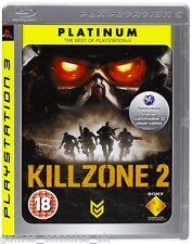 SONY PS3 KILLZONE 2 GAME BRAND NEW PAL SEALED KILL ZONE