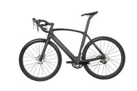 56CM AERO Carbon Frame Racing Bike Alloy Wheelset Clincher Road Bike Tire 700C
