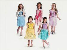 Disney NWT Princess Costume Wardrobe Rapunzel Ariel Belle Aurora XS X-Small 4