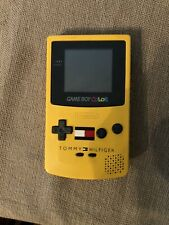 Rare! Gameboy Color Tommy Hilfiger Edition W/ Tetris Tested On August 8th 2021
