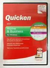 Intuit Quicken Home and Business 2017 For Windows - Factory sealed Retail Case