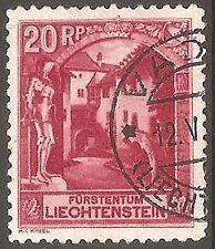 Used Liechtenstein Stamps