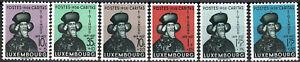 Luxemburg Luxembourg 1938 CARITAS Sigismund Satz postfrisch MNH** KW:70€
