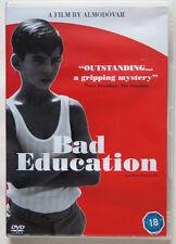BAD EDUCATION / PEDRO ALMODOVAR / SPANISH LANGUAGE ENGLISH SUBTITLES / 2004