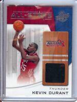 Kevin Durant 2010-11 Panini Season Update All-Stars Jersey Thunder #15