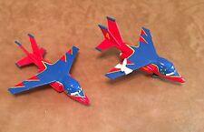 Cars Falcon Hawks & Bandaged Take Flight diecast plane lot Disney Pixar Mattel 3