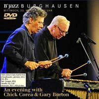 CHICK COREA & GARY BURTON,  Wackerhalle, Burghausen, 23. March 2011 (DVD)