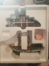 Dept 56 New England Village Series The Emily Louise 56581 Lighted Boat & Dock
