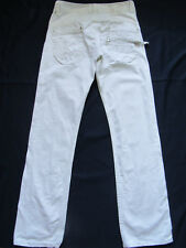 Jean KAPORAL mod. Oslo W32 Taille 42 coupe droite blanc TBE homme