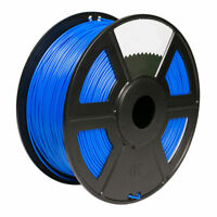 1 pk BLUE Color 3D Printer Filament 1kg/2.2lb 1.75mm PLA MakerBot RepRap