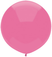 """LATEX 17""""(43CM) PASSION PINK PACK OF 50 QUALATEX BALLOONS PARTY SUPPLIES"""