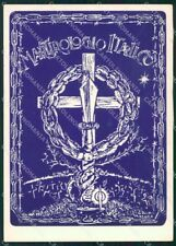 Politica Movimento Sociale Italiano Rito Funebre RSI Renier FG cartolina XF7338