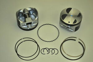 Piston With Rings ITM Engine Components RY6778-020