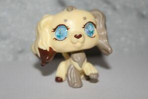 Littles Pet Shop Custom Resin/Glass eye OOAK Cocker Spaniel Custom
