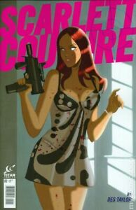 Scarlett Couture #2B Pink Title Variant FN 2015 Stock Image