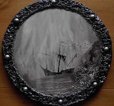 """Acrylbild Gothic Steampunk Viktorianisch Vintage Schiffswrack  """"Letzte Reise"""""""