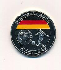 Republik Liberia 5 Dollars Fußball Weltmeisterschaft 2006 Deutschland UNC  #44
